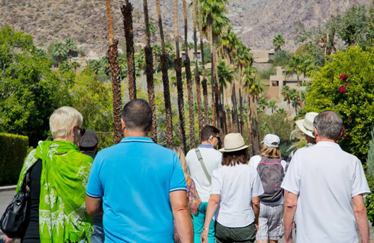 Palm Springs CA Guided Walking Tours